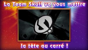 Pokémon Soleil et Lune la team Skull