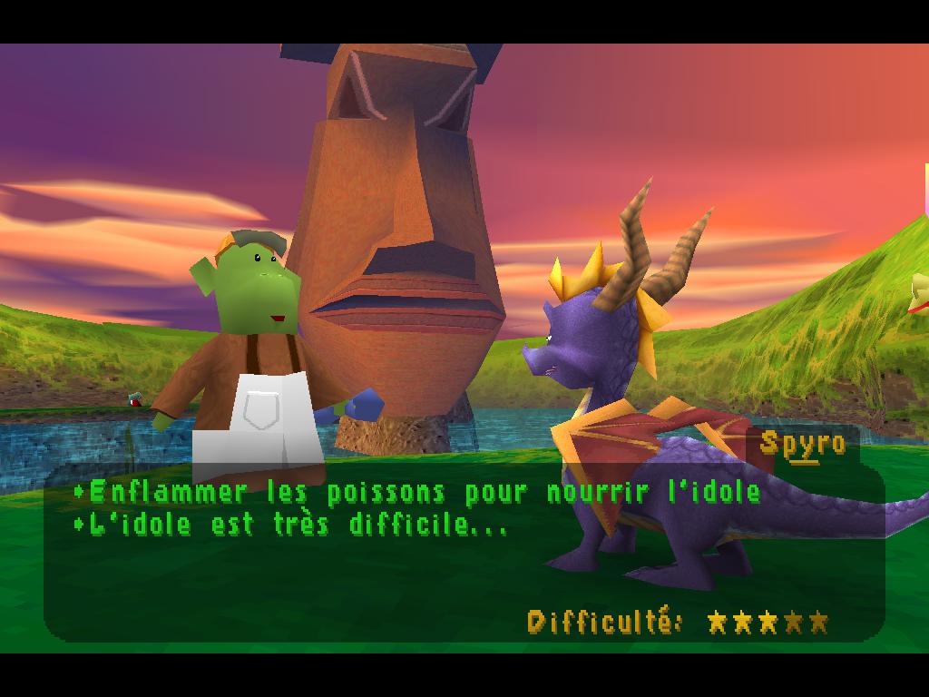Spyro 2 Gateway to Glimmer étoiles