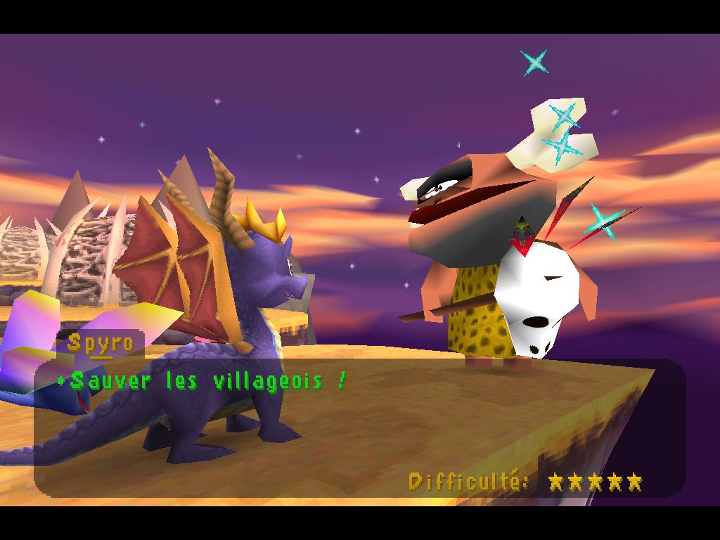 Spyro 2 Gateway to Glimmer 5 étoiles 2