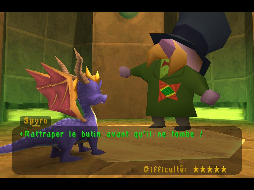 Spyro 2 Gateway to Glimmer 5 étoiles