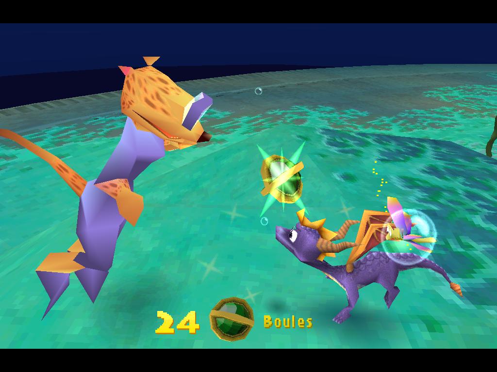 Spyro 2 Gateway to Glimmer Boule