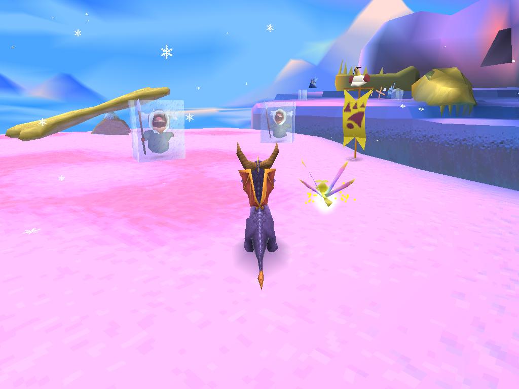 Spyro 2 Gateway to Glimmer Glacier de Cristal