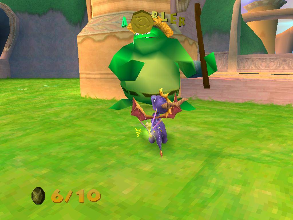 Spyro 2 Gateway to Glimmer Jeton