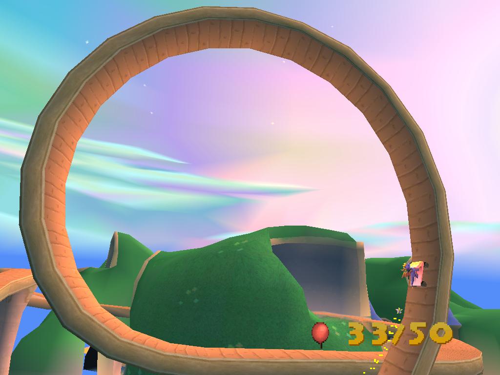 Spyro 2 Gateway to Glimmer Montagne Russe