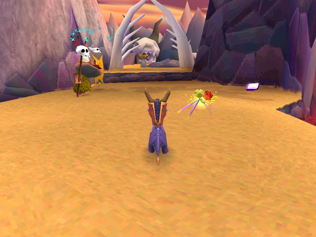 Spyro 2 Gateway to Glimmer Pays Maudit