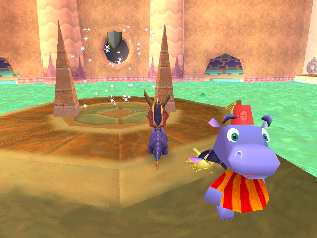 Spyro 2 Gateway to Glimmer Power Up invincibilitée