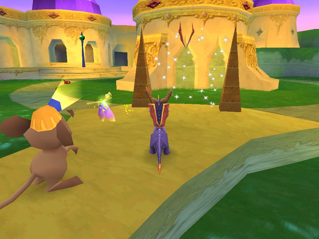 Spyro 2 Gateway to Glimmer Power Up