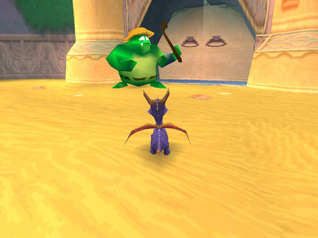 Spyro 2 Gateway to Glimmer Rivages du Dragon