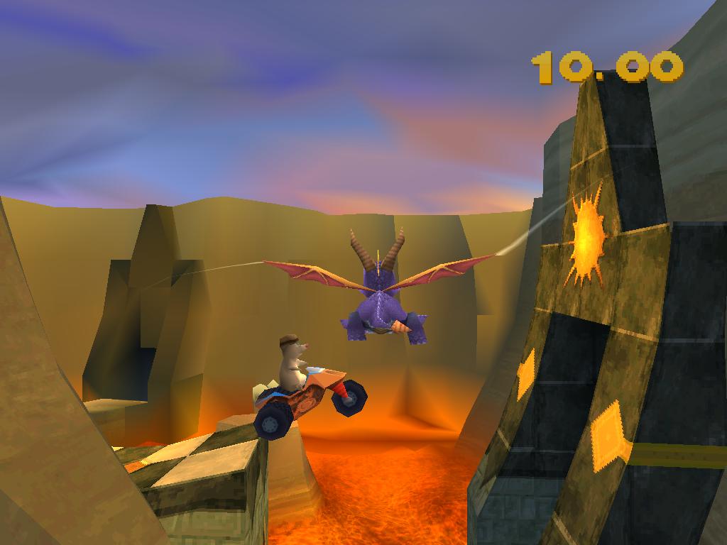 Spyro 2 Gateway to Glimmer circuit
