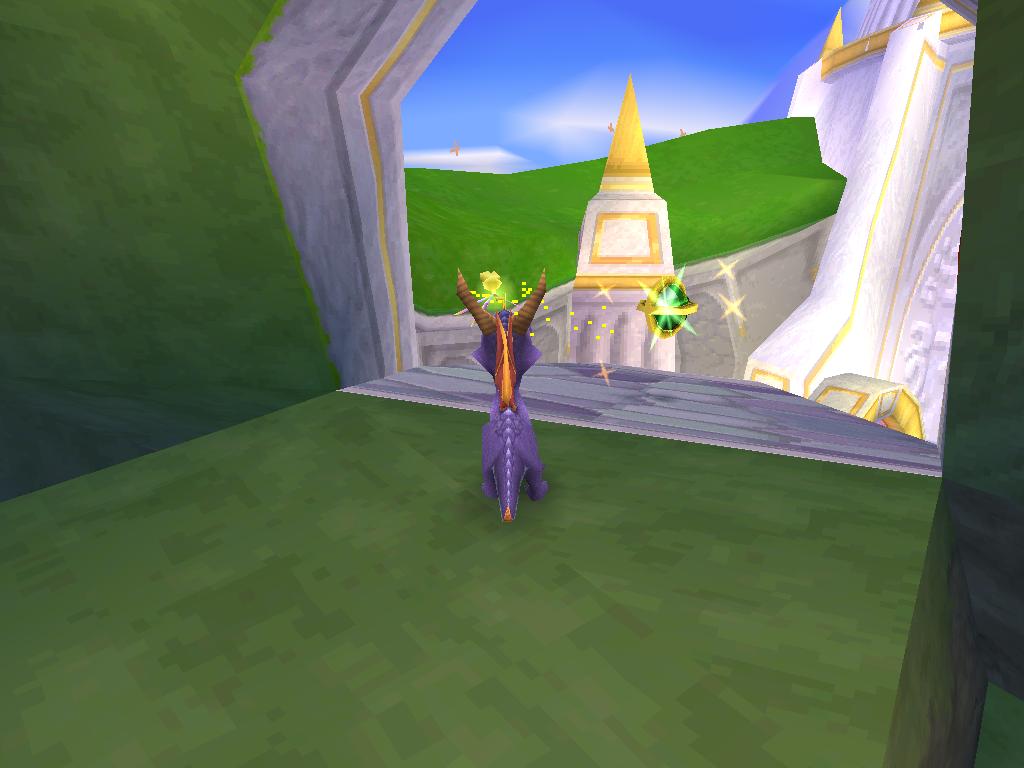 Spyro 2 Gateway to Glimmer une Boule