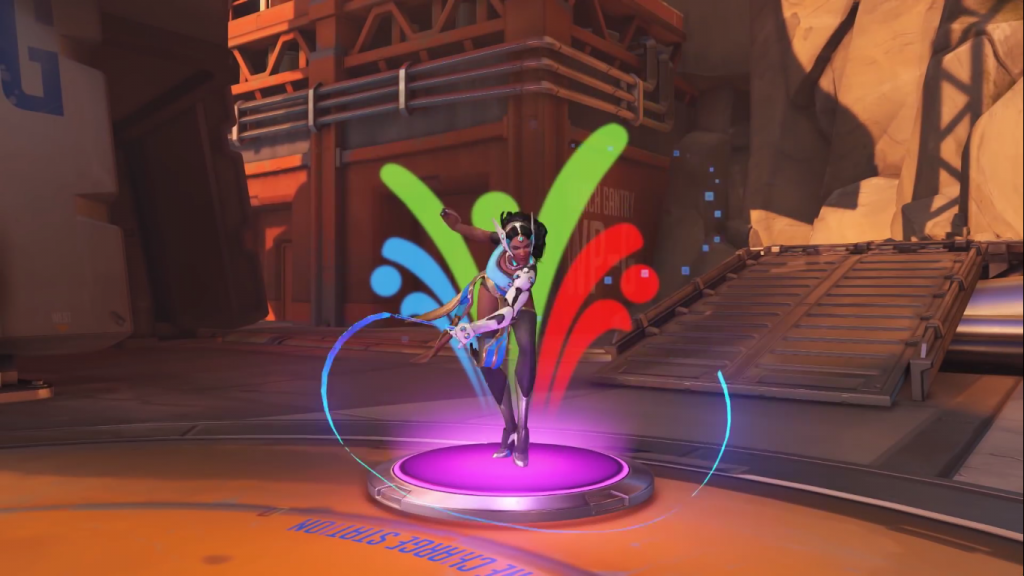 Summer Games Overwatch Symmetra