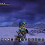 Dragon Quest Builders neige
