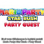 Nintendo Direct Mario Party Star Rush Party Guest