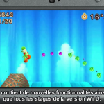 Nintendo Direct Poochy & Yoshi's Woolly World tous les stages Wii U