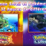 Pokémon Soleil-Lune decalage horaire