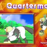 Pokémon Soleil et Lune Quatermac