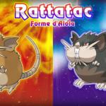 Pokémon Soleil-Lune rattatac alola