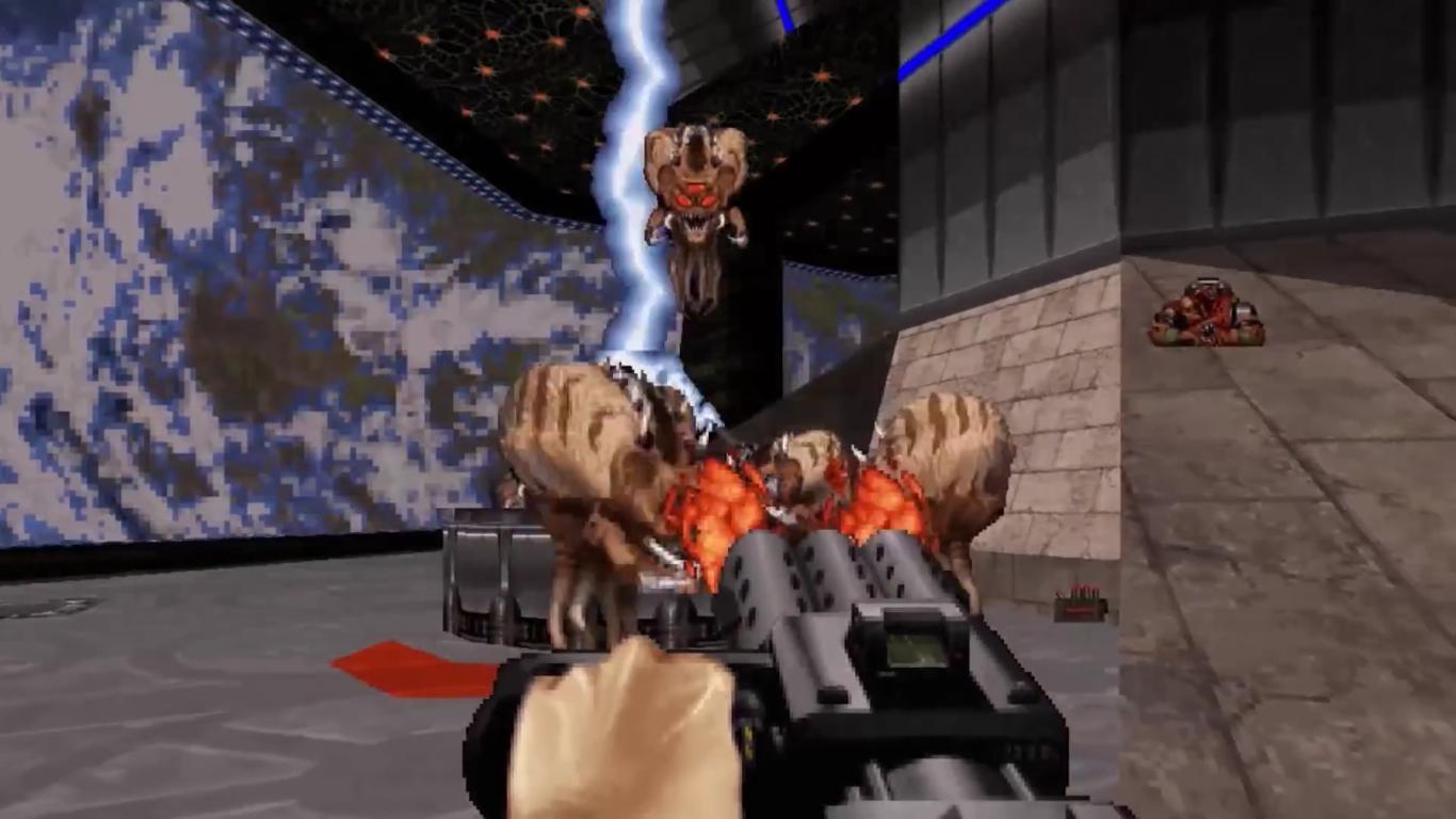 Duke Nukem 3D 20th Anniversary World Tour Alien 2