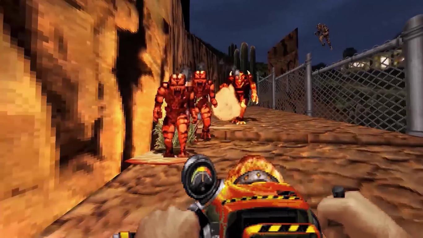 Duke Nukem 3D: 20th Anniversary World Tour Incinérateur