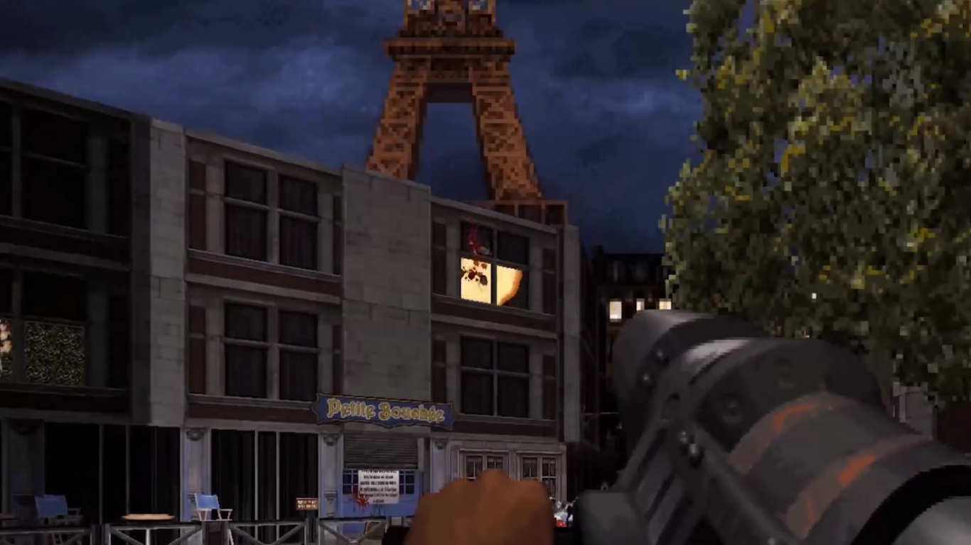 Duke Nukem 3D: 20th Anniversary World Tour Paris