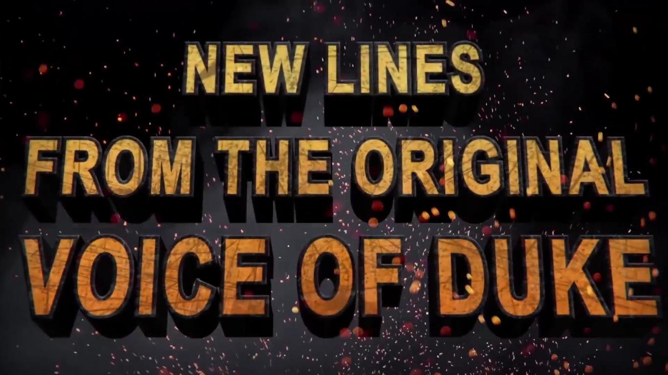 Duke Nukem 3D: 20th Anniversary World Tour Voix