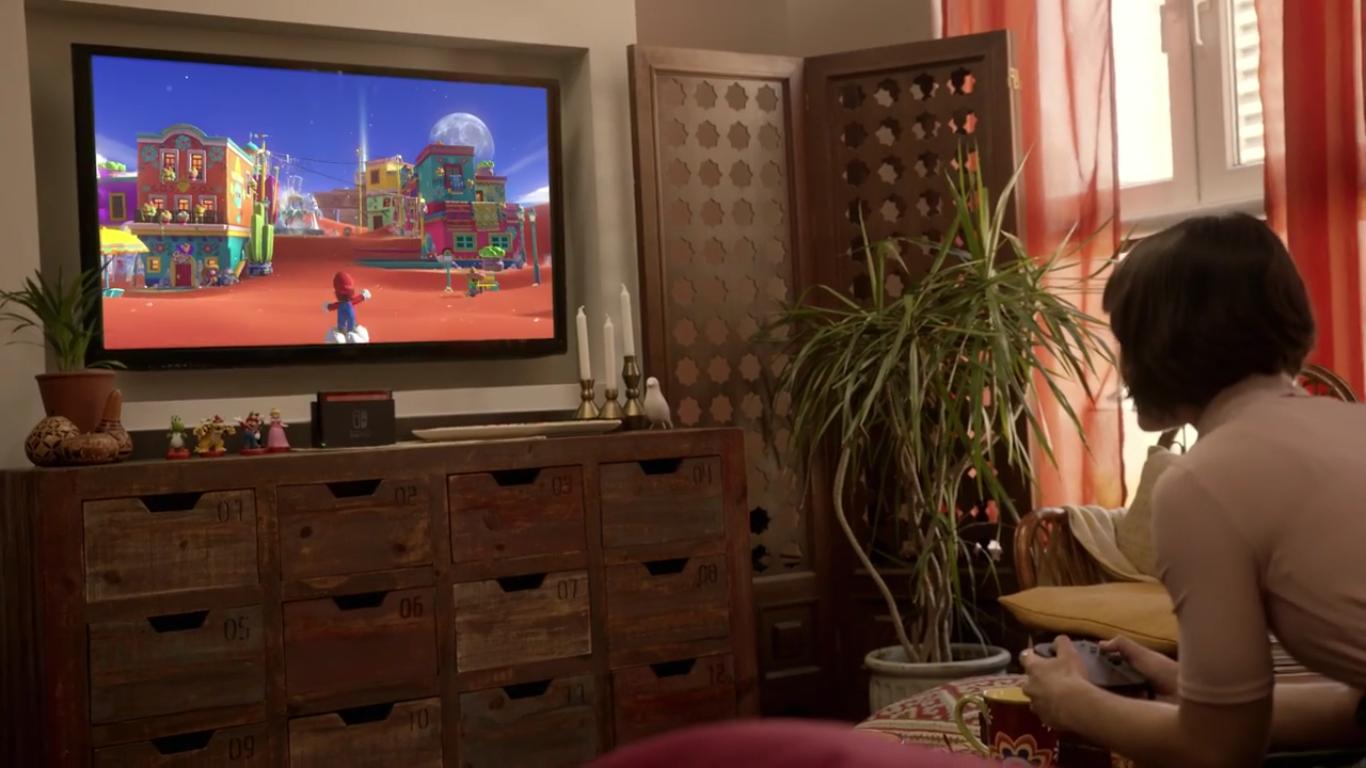 Nintendo Switch-extrait-mario