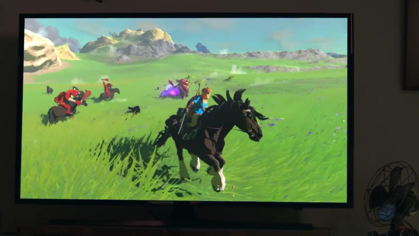 Nintendo Switch-zelda