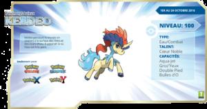 Pokémon Fabuleux Keldeo