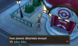 Pokémon Soleil et Lune 10 Jolies Ailes