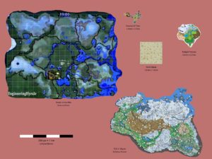 Breath of the Wild Comparaison des maps