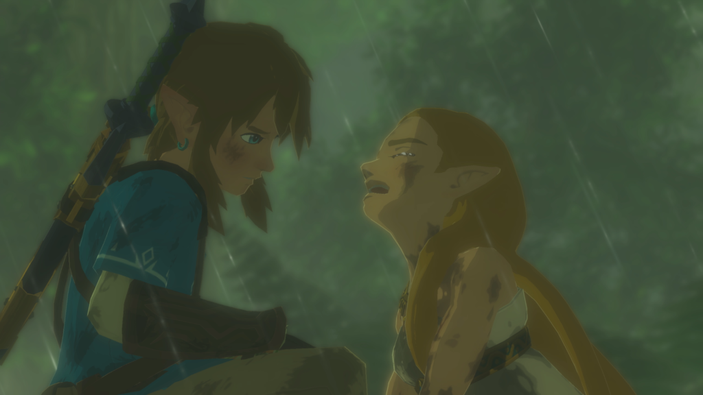 Breath of the Wild Zelda et Link
