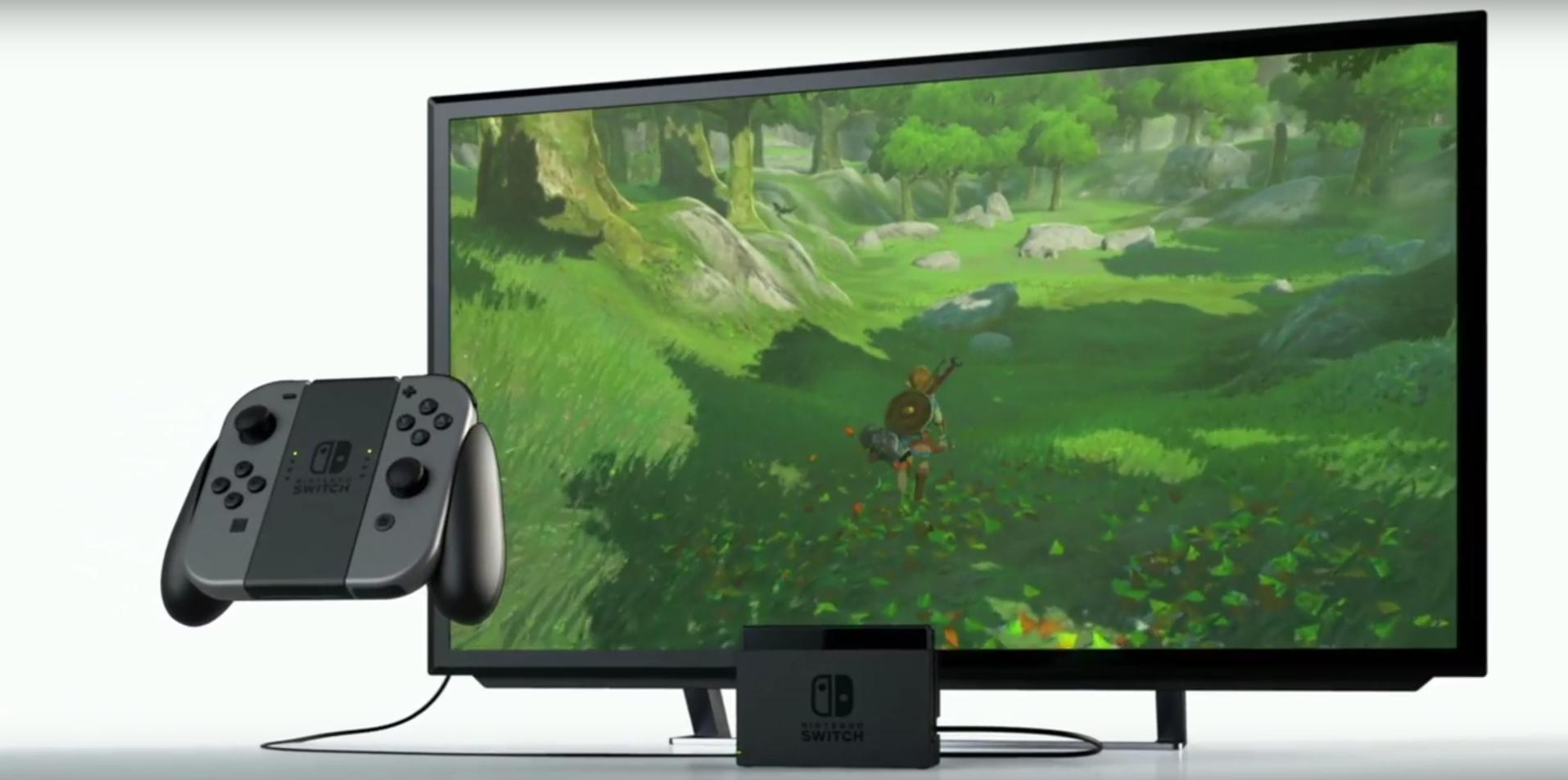 Conférence Nintendo Switch Connexion HDMI Station d'accueil TV