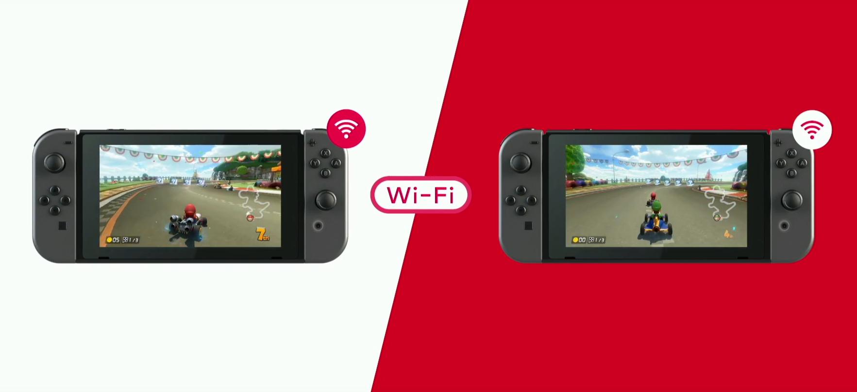 Conférence Nintendo Switch Connexion Wi-Fi Local