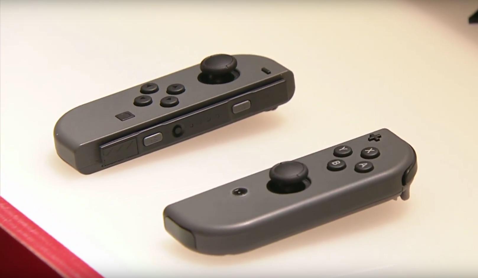 Conférence Nintendo Switch JoyCon Controllers