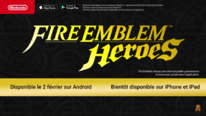 Nintendo Direct Fire Emblem Heroes disponible
