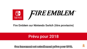 Nintendo Direct Fire Emblem Switch 2018