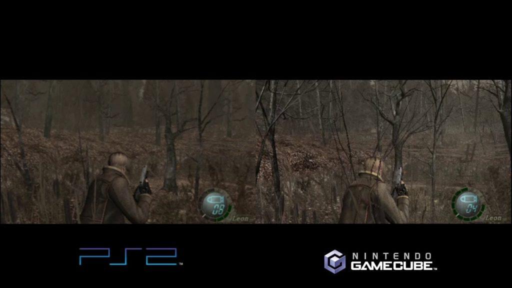 Wii U comparaison RE4