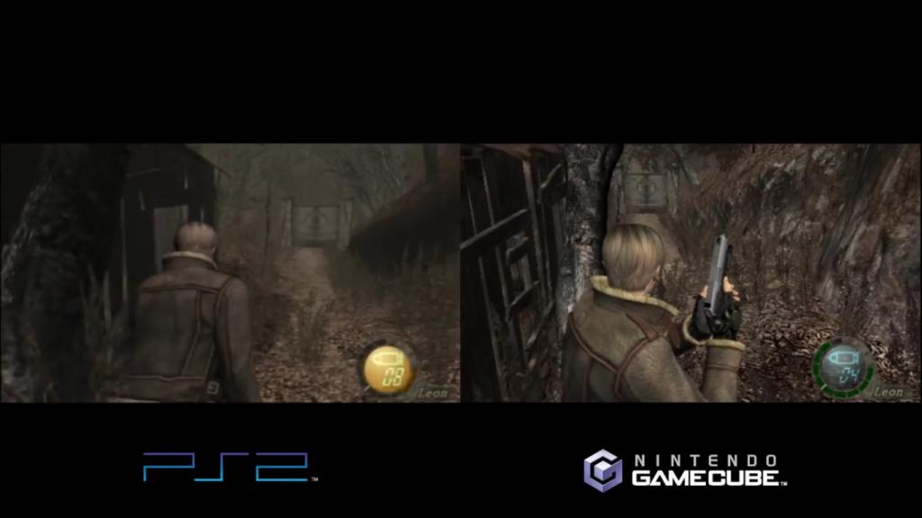 Wii U comparaison RE4 2