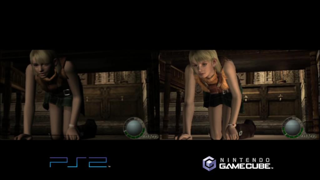 Wii U comparaison RE4 3