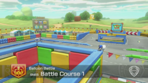 Mario Kart 8 Deluxe Arène Battle Course 1