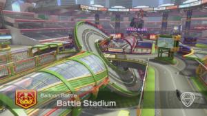 Mario Kart 8 Deluxe Arène Battle Stadium