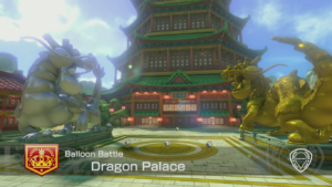 Mario Kart 8 Deluxe Arène Dragon Palace