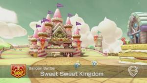 Mario Kart 8 Deluxe Arène Sweet Sweet Kingdom
