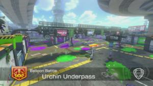 Mario Kart 8 Deluxe Arène Urchin Underpass