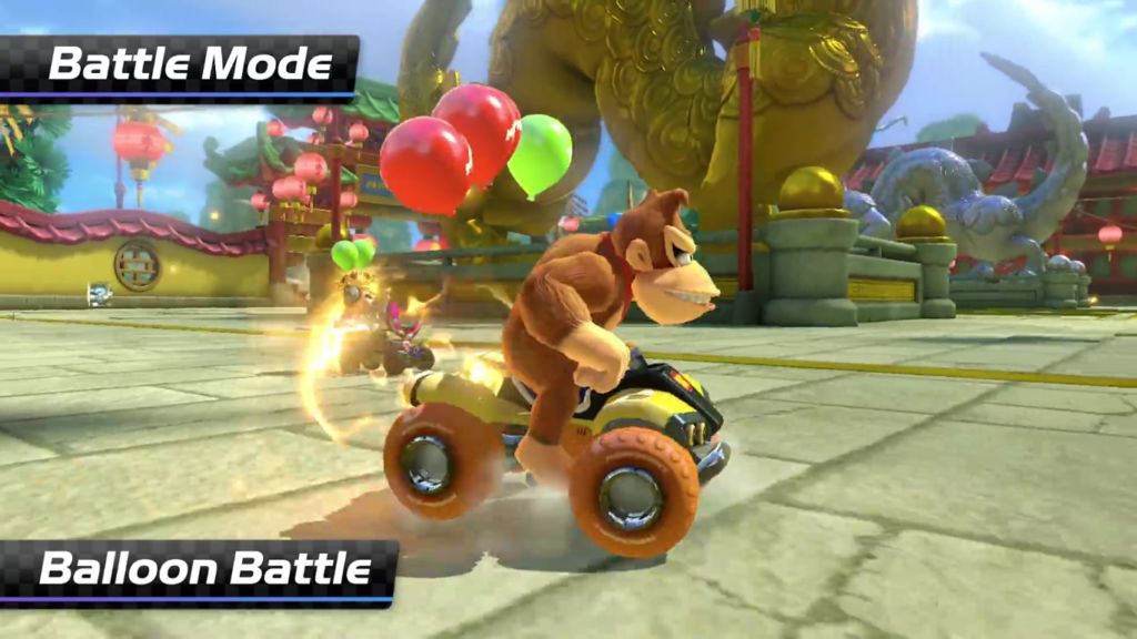 Mario Kart 8 Deluxe Bataille de Ballon 1
