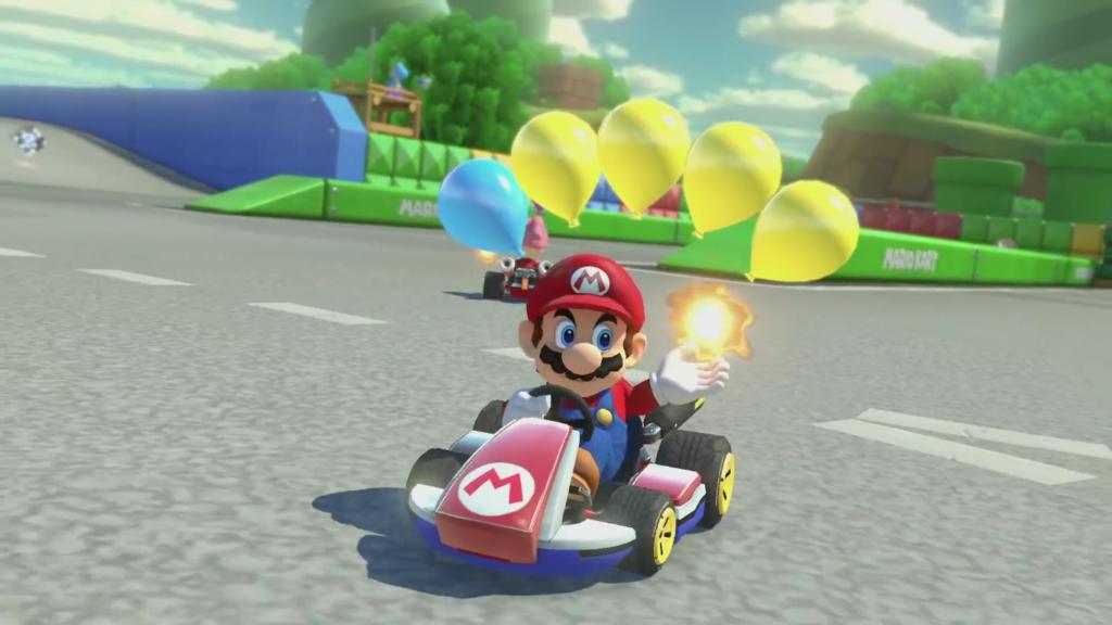 Mario Kart 8 Deluxe Bataille de Ballon 2