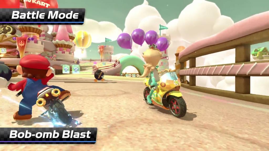 Mario Kart 8 Deluxe Bataille de Bob-Omb