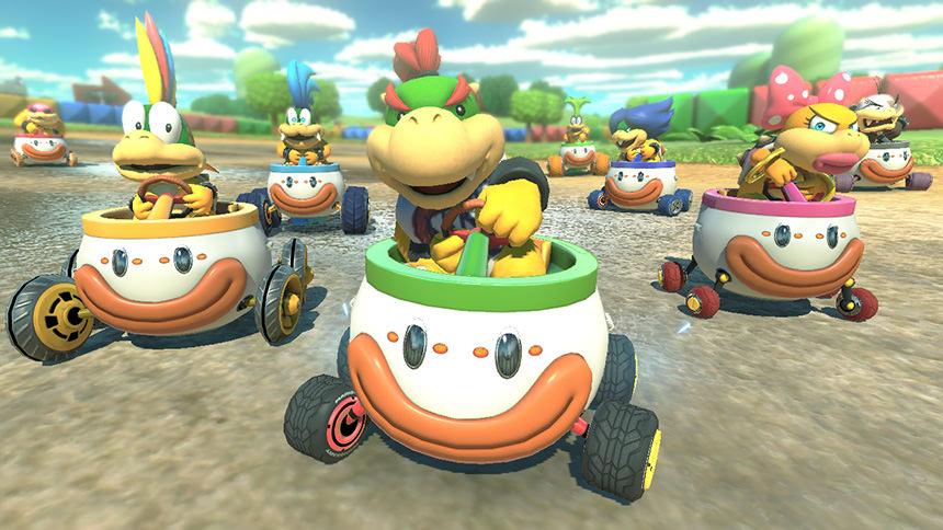 Mario Kart 8 Deluxe Bowser Jr.