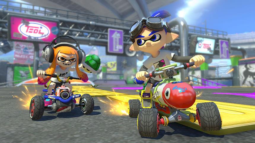 Mario Kart 8 Deluxe Garçon Inkling
