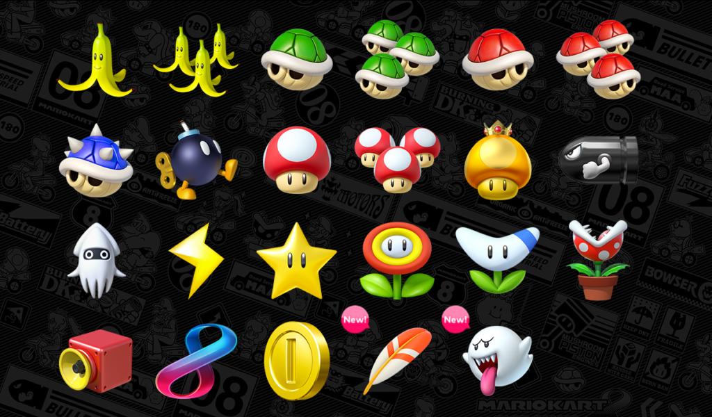 Mario Kart 8 Deluxe Nouveaux Objets